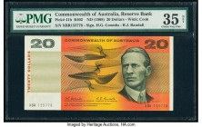 Australia Commonwealth of Australia Reserve Bank 20 Dollars ND (1968) Pick 41b R402 PMG Choice Very Fine 35 Net. Tear.  HID09801242017  © 2020 Heritag...