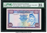 Brunei Government of Brunei 100 Ringgit 1978 Pick 10b KNB10 PMG Choice Very Fine 35.   HID09801242017  © 2020 Heritage Auctions | All Rights Reserved