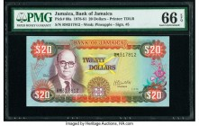 Jamaica Bank of Jamaica 20 Dollars 1.10.1979 Pick 68a PMG Gem Uncirculated 66 EPQ.   HID09801242017  © 2020 Heritage Auctions | All Rights Reserved