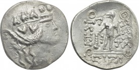 EASTERN EUROPE. Imitations of Thasos. Tetradrachm (2nd-1st centuries BC).