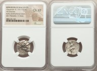 MACEDONIAN KINGDOM. Alexander III the Great (336-323 BC). AR drachm (19mm, 11h). NGC Choice XF. Posthumous issue of Abydus, ca. 310-301 BC. Head of He...