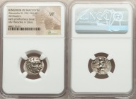 MACEDONIAN KINGDOM. Alexander III the Great (336-323 BC). AR drachm (18mm, 12h). NGC VF. Posthumous issue of Miletus, ca. 300-295 BC. Head of Heracles...