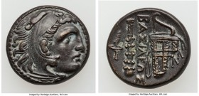MACEDONIAN KINGDOM. Alexander III the Great (336-323 BC). AE unit (19mm, 6.47 gm, 4h). XF. Early posthumous issue of uncertain mint in west Asia Minor...