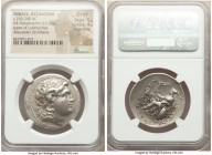 THRACE. Byzantium. Ca. 250-200 BC. AR tetradrachm (32mm, 16.54 gm, 1h). NGC Choice VF 5/5 - 4/5, Fine Style. Name and types of Lysimachus of Thrace. D...