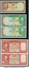 Afghanistan Bank of Afghanistan 2; 5; 5; 10; 10 Afghanis ND (1939) / SH1318 Pick 21; 22 (2); 23a (2) Crisp Uncirculated.   HID09801242017  © 2020 Heri...