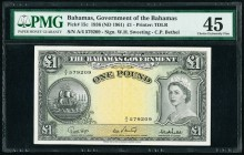 Bahamas Bahamas Government 1 Pound 1936 (ND 1961) Pick 15c PMG Choice Extremely Fine 45.   HID09801242017  © 2020 Heritage Auctions | All Rights Reser...