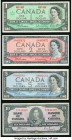 Canada Bank of Canada $10 1937 BC-24c; $2 1954 BC-38b; $5 1954 BC-39a; $1 1967 BC-45a Fine or Better.   HID09801242017  © 2020 Heritage Auctions | All...