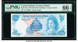 Cayman Islands Currency Board 50 Dollars 1974 (ND 1987) Pick 10a PMG Gem Uncirculated 66 EPQ.   HID09801242017  © 2020 Heritage Auctions | All Rights ...