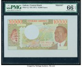 Gabon Banque Centrale 10,000 Francs ND (1971) Pick 1p Proof PMG Gem Uncirculated 66 EPQ.   HID09801242017  © 2020 Heritage Auctions | All Rights Reser...