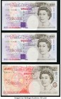 Great Britain Bank of England 20 Pounds 1993 (ND 1993-99) Pick 387a (2); 50 Pounds 1994 (2006-) Pick 388c Very Fine or Better.   HID09801242017  © 202...