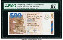 Hong Kong Standard Chartered Bank 500 Dollars 1.7.2003 Pick 294 KNB72 PMG Superb Gem Unc 67 EPQ.   HID09801242017  © 2020 Heritage Auctions | All Righ...