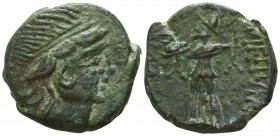 Eastern Europe. Imitation of Mesembria, Thrace circa 200-100 BC. Bronze Æ