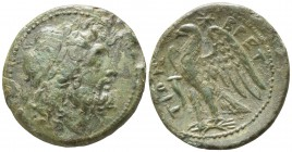Bruttium. The Brettii circa 214-211 BC. Reduced Uncia AE