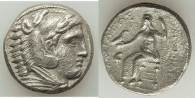 MACEDONIAN KINGDOM. Alexander III the Great (336-323 BC). AR tetradrachm (25mm, 16.50 gm, 6h). About XF, porosity. Early posthumous issue of 'Amphipol...