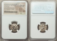 MACEDONIAN KINGDOM. Alexander III the Great (336-323 BC). AR drachm (16mm, 11h). NGC Choice XF. Posthumous issue of Mylasa, ca. 310-300 BC. Head of He...