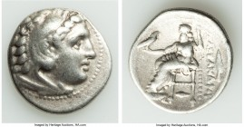 MACEDONIAN KINGDOM. Alexander III the Great (336-323 BC). AR drachm (18mm, 4.21 gm, 12h). Fine. Early posthumous issue of 'Colophon', 323-319 BC. Head...