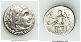 MACEDONIAN KINGDOM. Alexander III the Great (336-323 BC). AR drachm (17mm, 4.18 gm, 11h). Fine. Posthumous issue of Magnesia ad Maeandrum, under Antig...