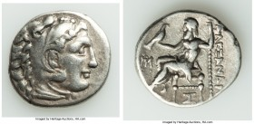 MACEDONIAN KINGDOM. Alexander III the Great (336-323 BC). AR drachm (19mm, 4.16 gm, 2h). Choice Fine. Posthumous issue of Abydus (?), ca. 310-301 BC. ...