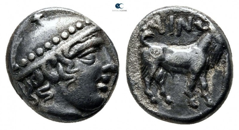 Thrace. Ainos circa 429-427 BC. 