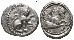 Dynasts of Lycia. Uncertain mint. Uncertain Dynast 480-460 BC. Stater AR