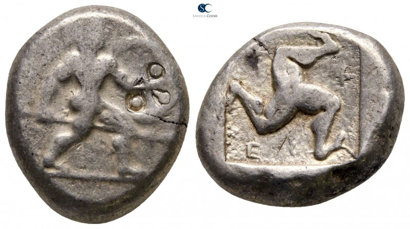Pamphylia. Aspendos 465-430 BC. 
