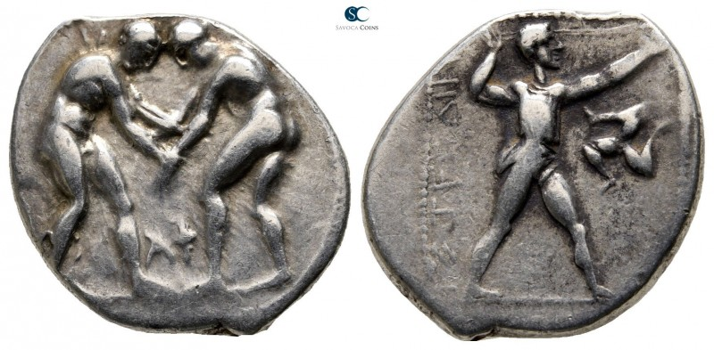 Pamphylia. Aspendos circa 380-330 BC. 