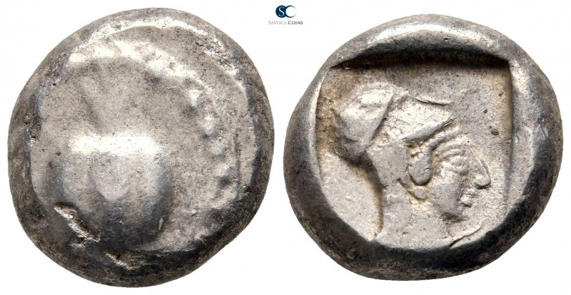 Pamphylia. Side circa 460-430 BC. 