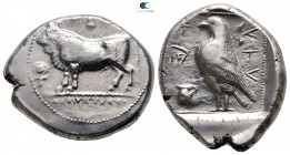 Cyprus. Paphos. Stasandros circa 425 BC or later. Stater AR