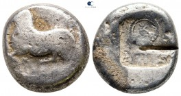 Cyprus. Salamis. Uncertain king circa 530-450 BC. Stater AR