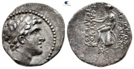 Seleukid Kingdom. Antioch on the Orontes. Alexander I Balas 152-145 BC. Undated issue, struck circa 151-149 BC. Drachm AR