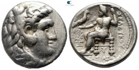 Seleukid Kingdom. Carrhae. Seleukos I Nikator 312-281 BC. Type of Alexander III with name of Seleukos. Tetradrachm AR