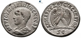 Seleucis and Pieria. Antioch. Philip II as Caesar AD 244-247. Tetradrachm AR