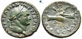 Titus, as Caesar AD 76-78. Rome. As Æ