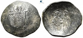 Andronicus I Comnenus AD 1183-1185. Constantinople. Billon Trachy