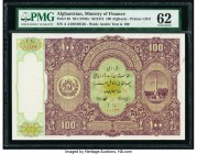 Afghanistan Ministry of Finance 100 Afghanis ND (1936) / SH1315 Pick 20 PMG Uncirculated 62. Tear repair.  HID09801242017  © 2020 Heritage Auctions | ...