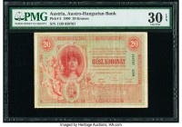 Austria Austro-Hungarian Bank 20 Kronen 1900 Pick 5 PMG Very Fine 30 EPQ.   HID09801242017  © 2020 Heritage Auctions | All Rights Reserved