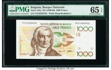 Belgium Banque Nationale de Belgique 1000 Francs ND (1980-96) Pick 144a PMG Gem Uncirculated 65 EPQ.   HID09801242017  © 2020 Heritage Auctions | All ...