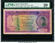 Egypt National Bank of Egypt 100 Pounds 1948-50 Pick 27a PMG Very Fine 20. Annotations.  HID09801242017  © 2020 Heritage Auctions | All Rights Reserve...