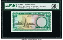 Gambia The Gambia Currency Board 10 Shillings ND (1965-70) Pick 1a PMG Superb Gem Unc 68 EPQ.   HID09801242017  © 2020 Heritage Auctions | All Rights ...