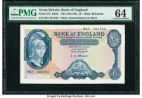 Great Britain Bank of England 5 Pounds ND (1961-63) Pick 372 PMG Choice Uncirculated 64.   HID09801242017  © 2020 Heritage Auctions | All Rights Reser...