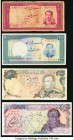 A Quartet of Circulated Issues from Iran. Very Good or Better.   HID09801242017  © 2020 Heritage Auctions | All Rights Reserved