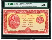 Ireland - Republic Central Bank of Ireland 20 Pounds 1.6.1961Pick 67a PMG About Uncirculated 50 EPQ.   HID09801242017  © 2020 Heritage Auctions | All ...
