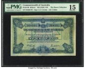 Australia Commonwealth of Australia 10 Pounds ND (1918) Pick 6b R52c PMG Choice Fine 15. Though the Standard Catalog of World Paper Money does not mak...