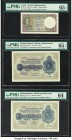 Ceylon Government of Ceylon 1 Rupee 1.3.1947 Pick 34 PMG Gem Uncirculated 65 EPQ; Falkland Islands Government of the Falkland Islands 1 Pound (2) 2.1....