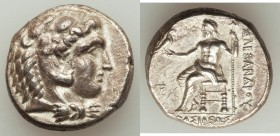 MACEDONIAN KINGDOM. Alexander III the Great (336-323 BC). AR tetradrachm (25mm, 17.15 gm, 1h). XF. Late lifetime to early posthumous issue of Cyprus, ...