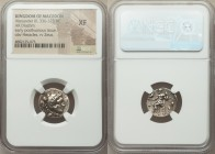 MACEDONIAN KINGDOM. Alexander III the Great (336-323 BC). AR drachm (17mm, 12h). NGC XF. Early posthumous issue of Sardes, ca. 323-319 BC. Head of Her...