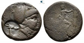 Kings of Macedon. Uncertain mint in Macedon. Antigonos II Gonatas 277-239 BC. c/m: head of stag. Bronze Æ