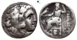 Kings of Macedon. Kolophon. Antigonos I Monophthalmos 320-301 BC. In the name and types of Alexander III. Struck circa 310-301 BC. Drachm AR