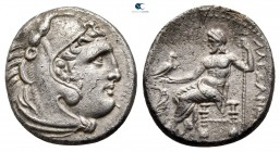 "Kings of Macedon. Uncertain mint in Macedon. Alexander III ""the Great"" 336-323 BC. Drachm AR"