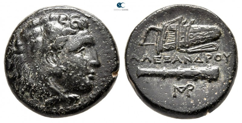 "Kings of Macedon. Uncertain mint in Western Asia Minor. Alexander III ""the Great..."